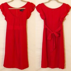 Topshop Dresses - TopShop Red Dress Size 4